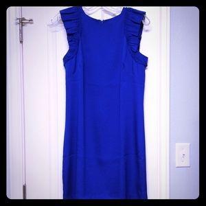 Beautiful blue shift dress